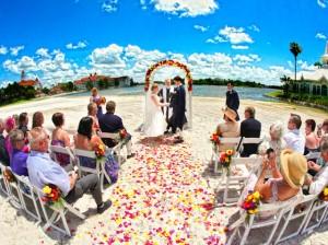 Disney Beach Wedding