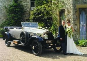 vintage Rolls Royce Silver Ghost
