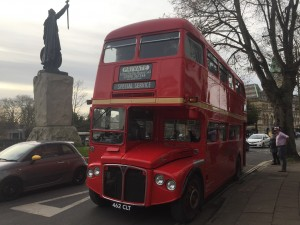 red routemsater bus hire