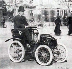 Early 1900's vintage car