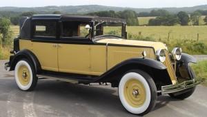 Vintage Renault Vivasix Landaulette