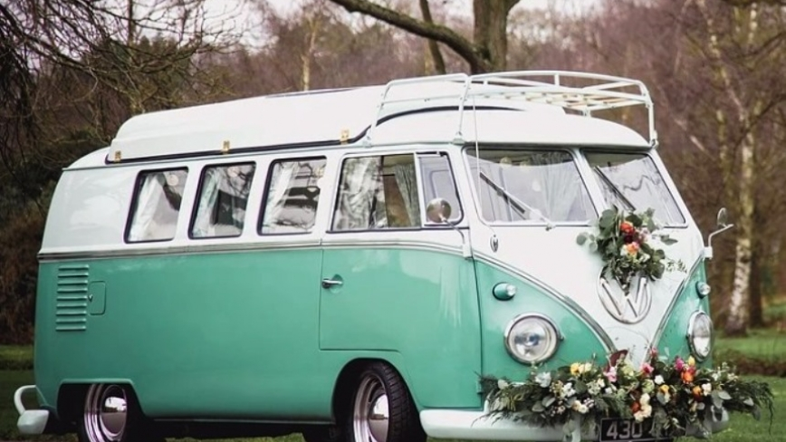 VW Campervans for weddings in Surrey