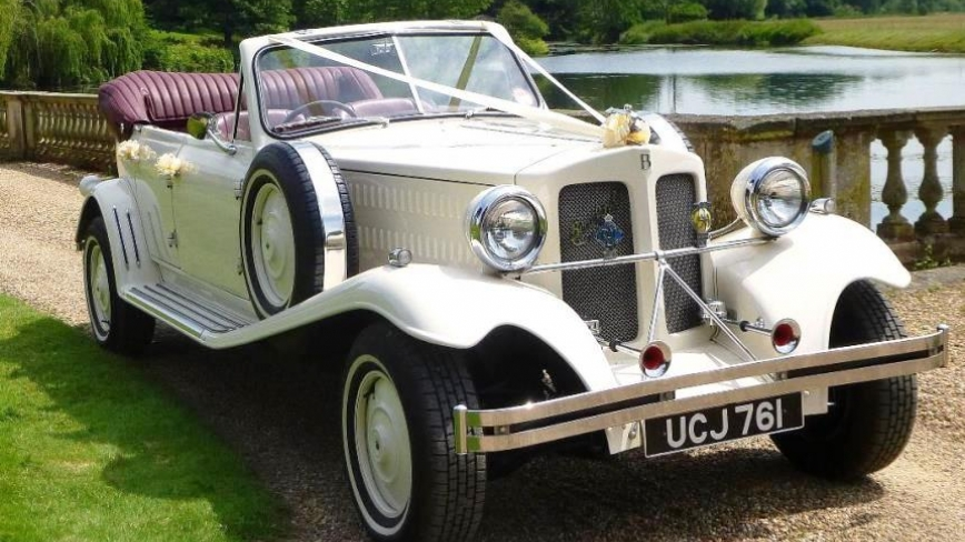 beauford wedding cars to hire in London