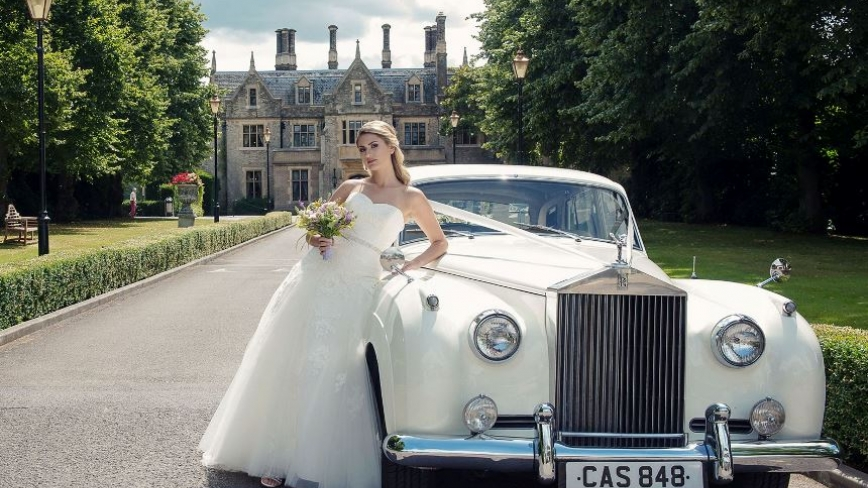 classic Rolls Royce wedding cars in Berkshire