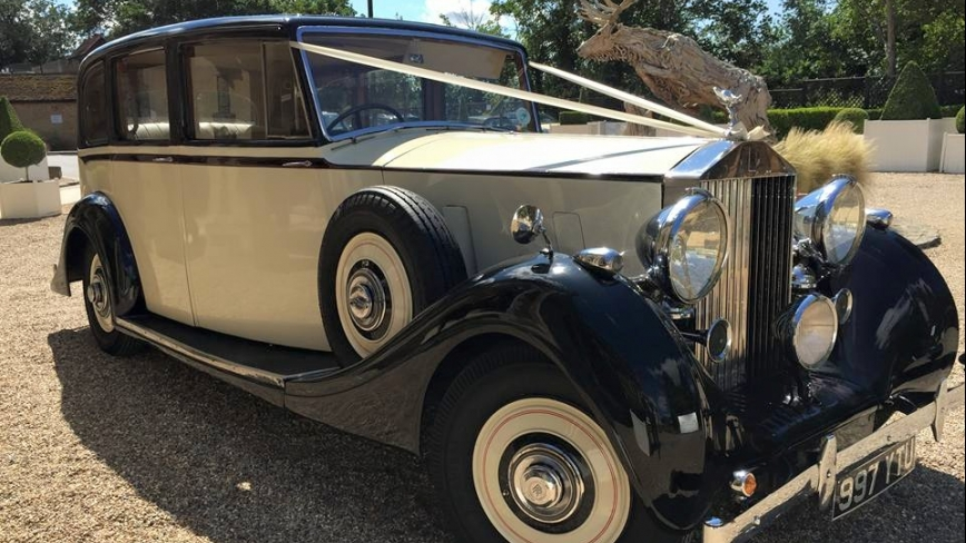 vintage rolls royce wedding cars in Surrey