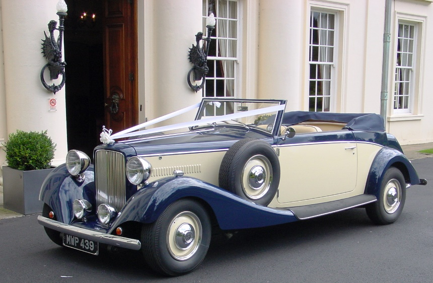 Vintage Jaguar 1930s Jaguar For Weddings In Reading