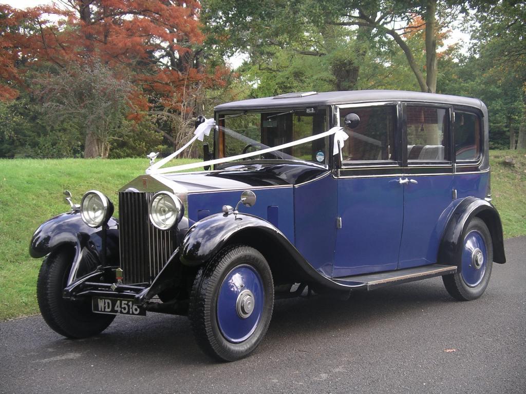 Vintage Rolls Royce Cars