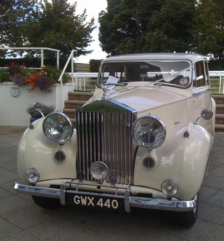 Vintage Wedding Dresses Kingston: Vintage Wedding Car In Worcester