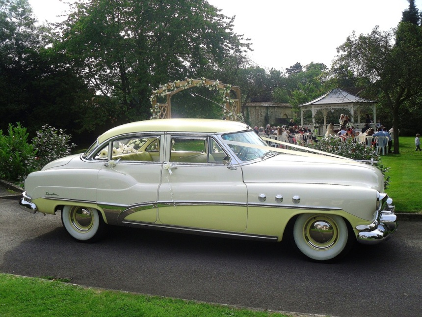 1951 Buick Sedan | Classic American Wedding Car in ...