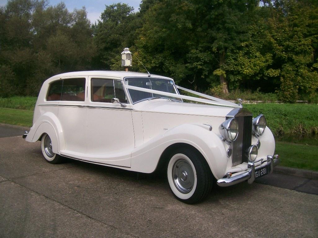 Rolls Royce Silver Wraith 1950s Rolls Royce Wedding Car