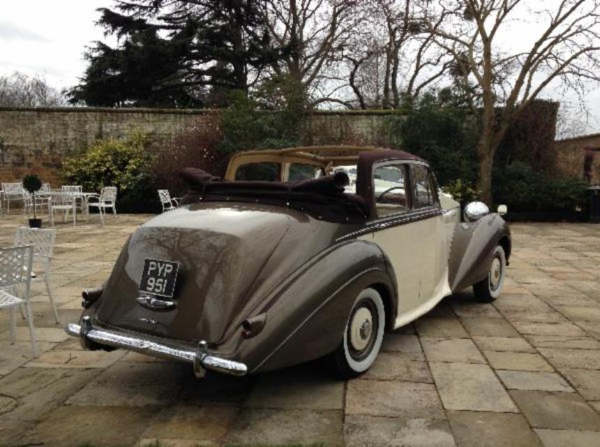 Convertible Bentley 1953 Bentley Wedding Car In Horsham