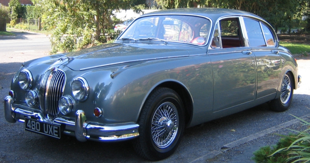 Classic Jaguar Wedding Car Classic Wedding Car In Henley