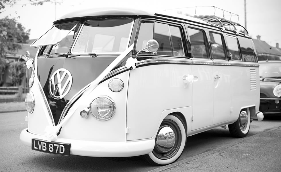 vw campervan campervan  weddings  northampton northamptonshire