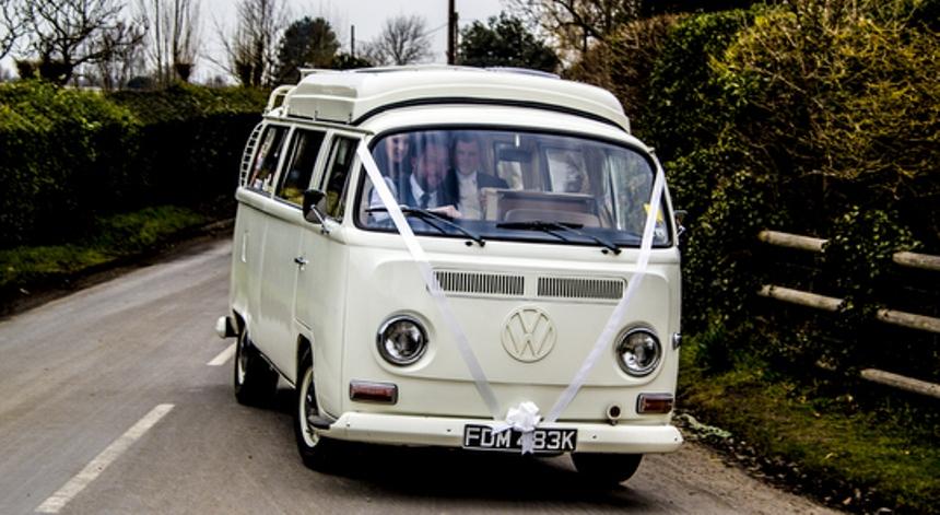 Vw Campervan Bay Window Campervan For Weddings In