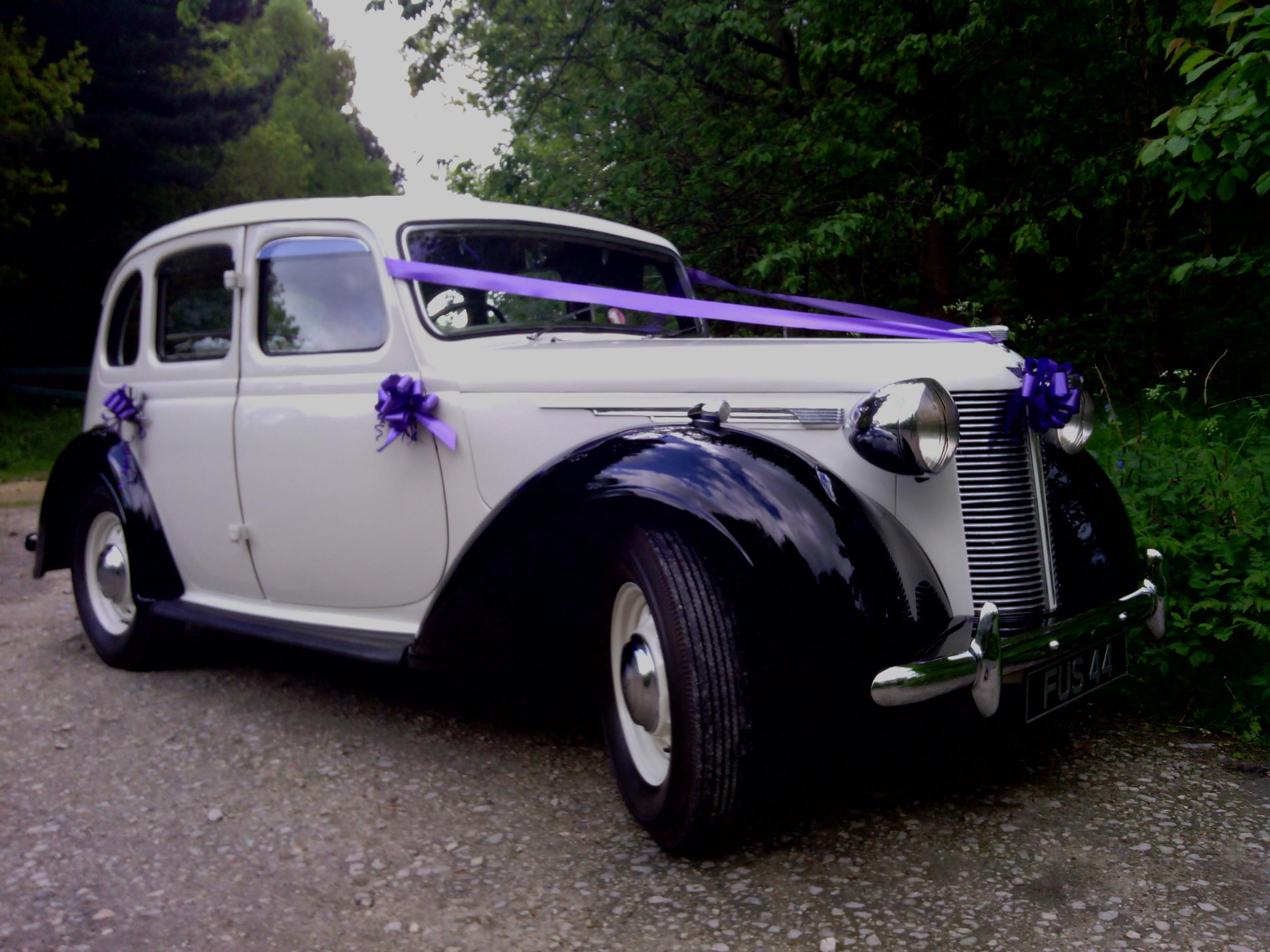 classic austin wedding car wedding car hire in nottingham
