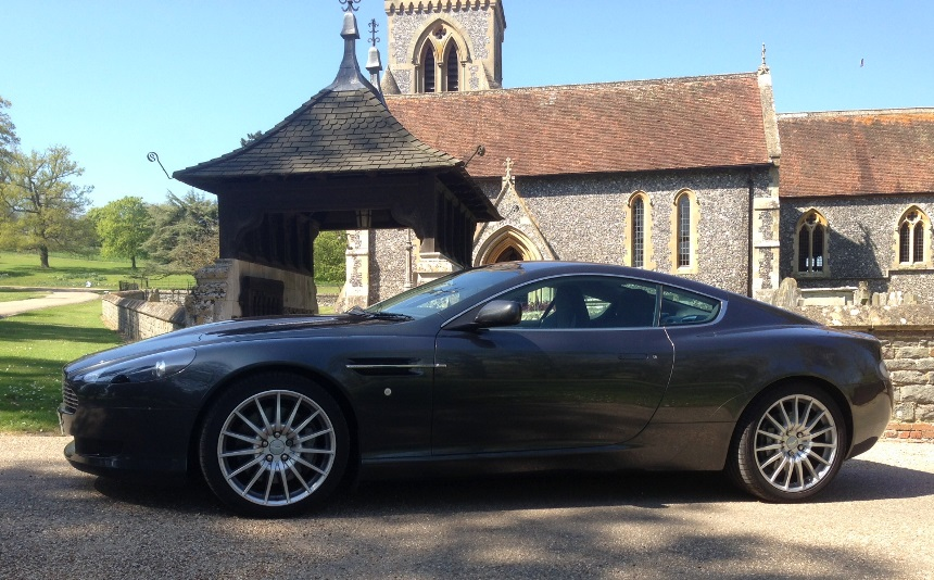 Aston Martin Wedding Car Hire In Reading