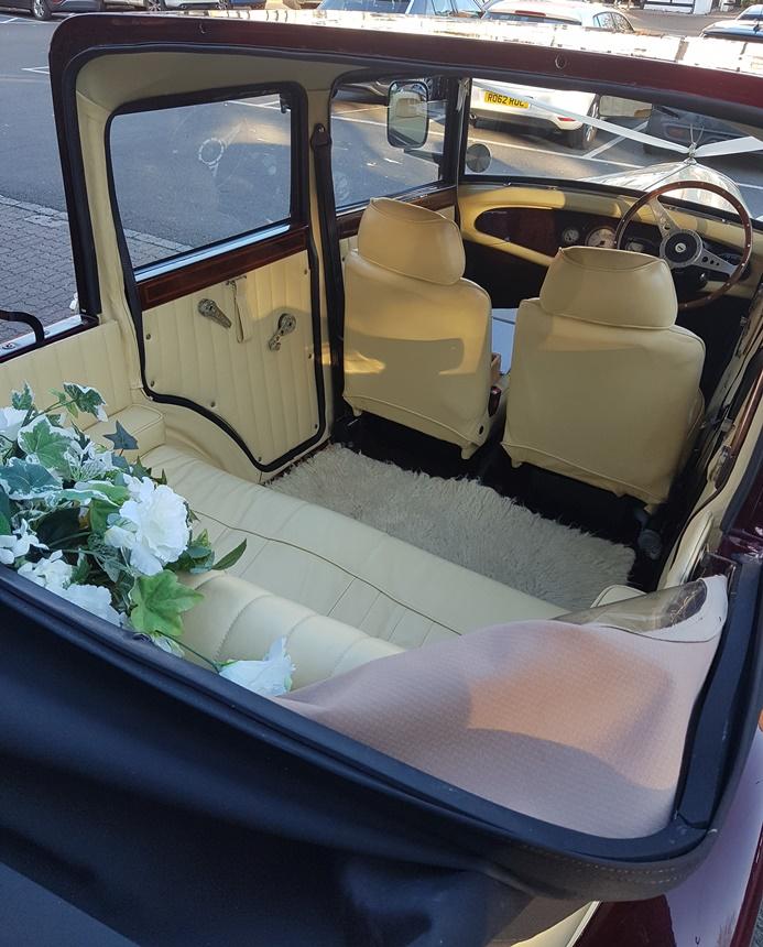 Farnham Van Sales Used Cars In Surrey: Vintage Badsworth Wedding Car Hire In Reading
