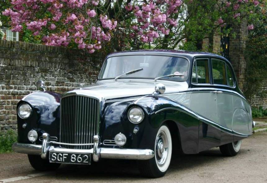 bentley wedding car 1956 bentley wedding car in esher. Black Bedroom Furniture Sets. Home Design Ideas