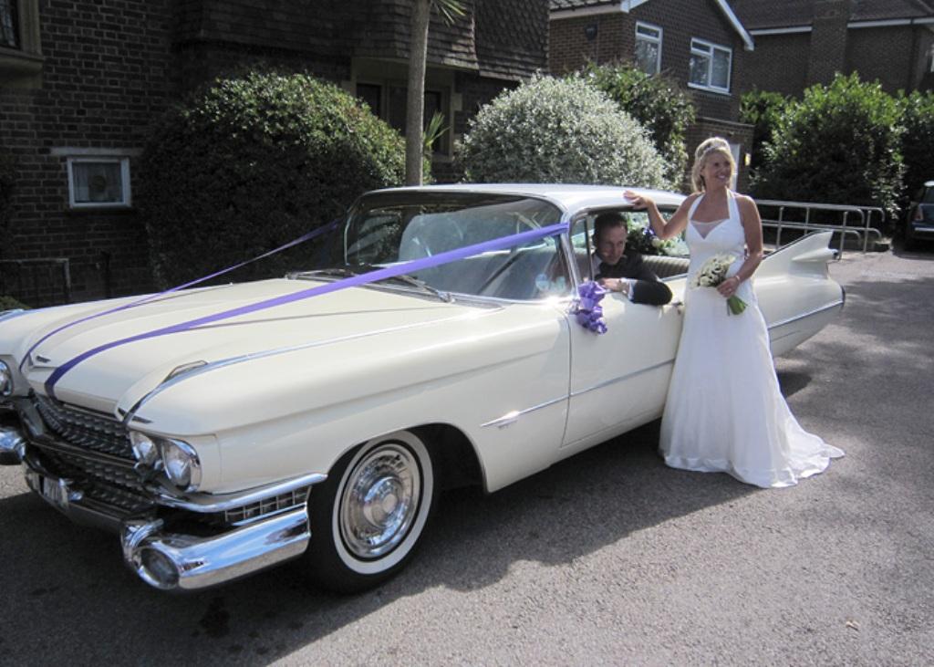 American Cadillac Wedding Car   Cadillac For Weddings In ...