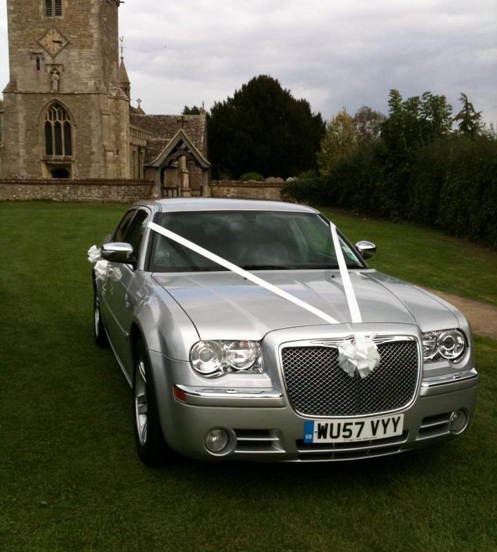 Silver Wedding Car In Swindon, Wiltshire