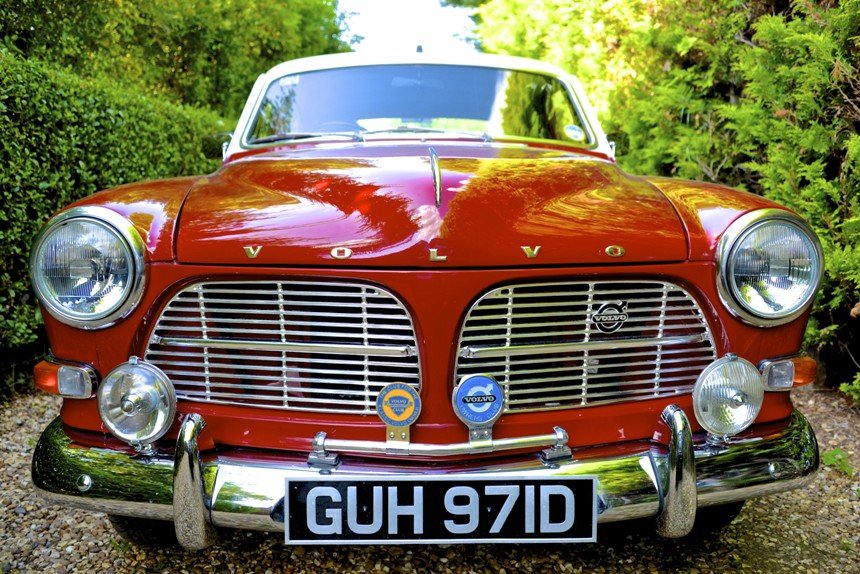 1966 Volvo Classic Wedding Car Hire In Leamington Spa Warwickshire