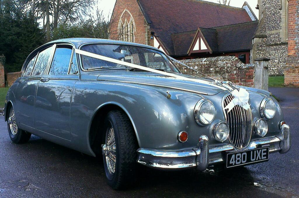 Classic Jaguar MK2 | Classic Wedding Car Hire In Henley, Oxfordshire