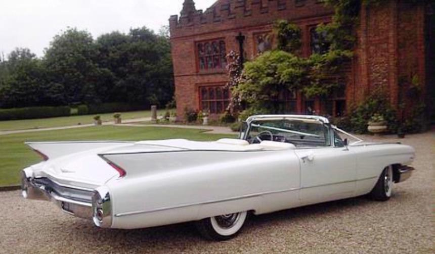 Convertible cadillac classic american wedding car in for Classic american convertibles