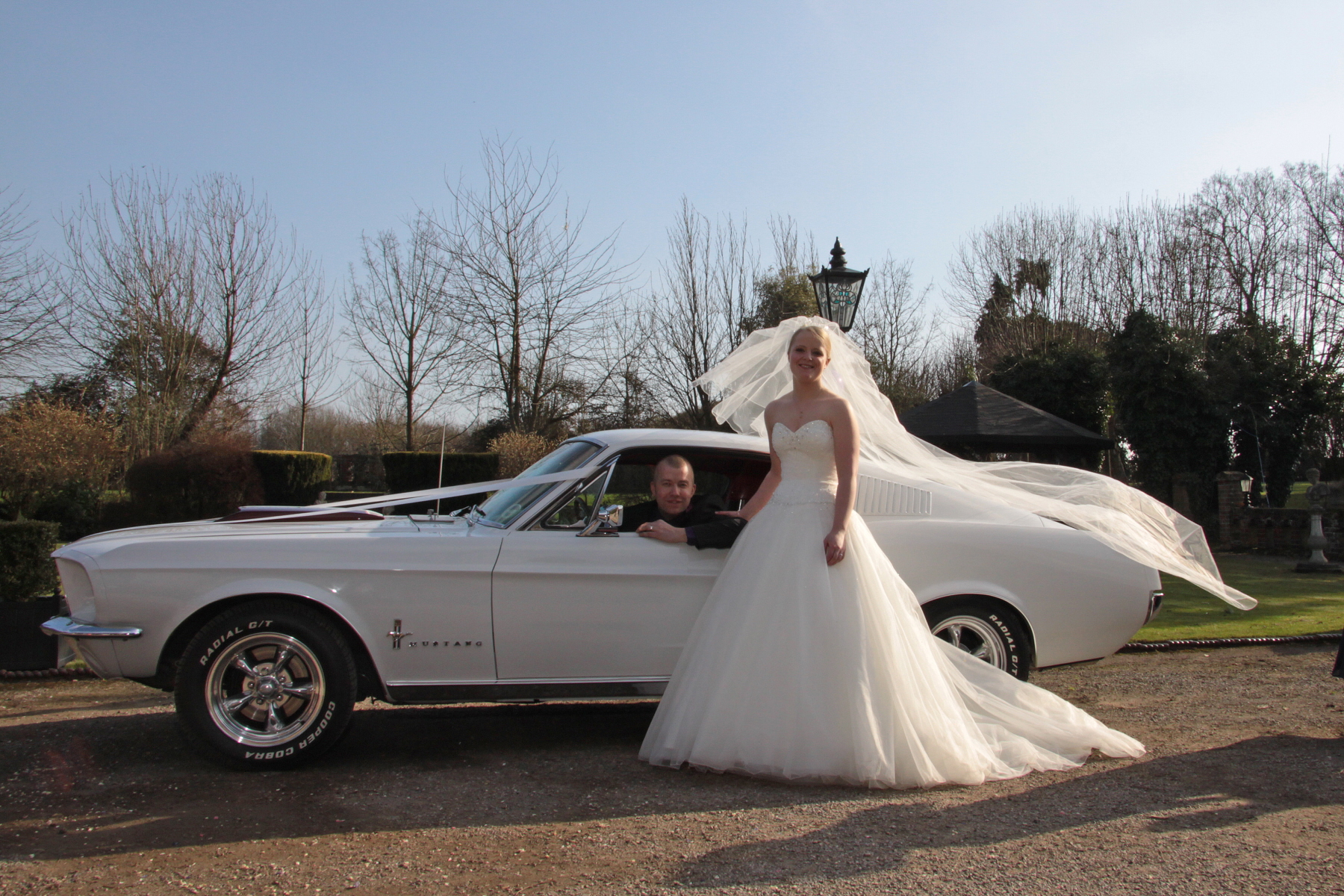 Classic Ford Mustang | American Wedding Car Hire Croydon ...