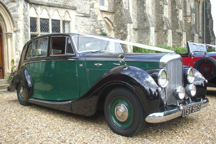 Classic Bentley Wedding Car Bentley Wedding Hire In