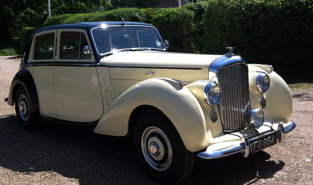 Classic Bentley Bentley Wedding Car Hire In Chichester