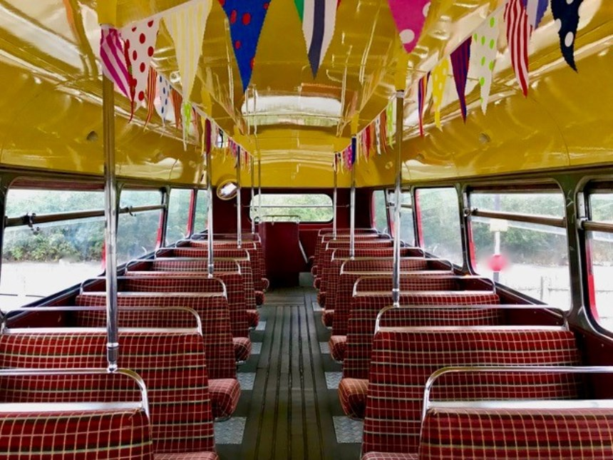 London Bus Routemaster Bus For Wedding Hire In