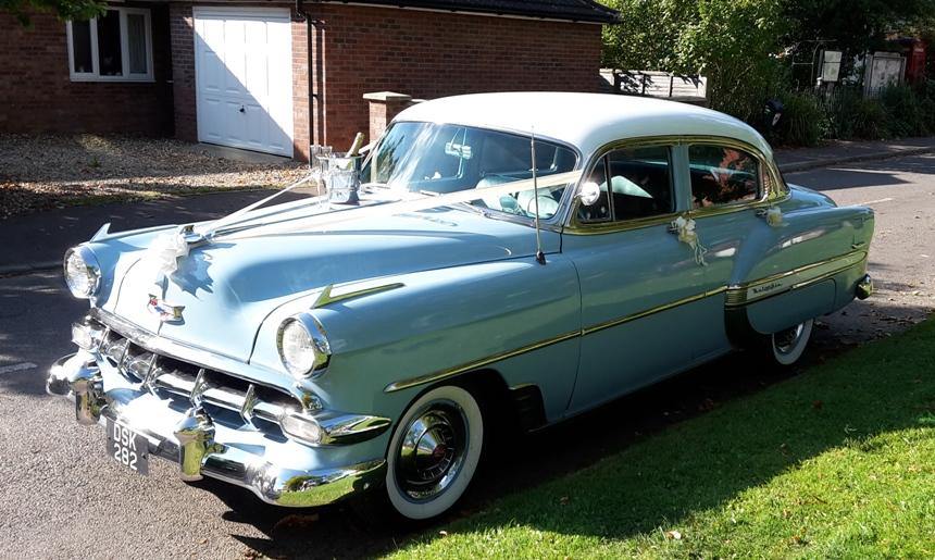 Classic Wedding Car Hire Norfolk
