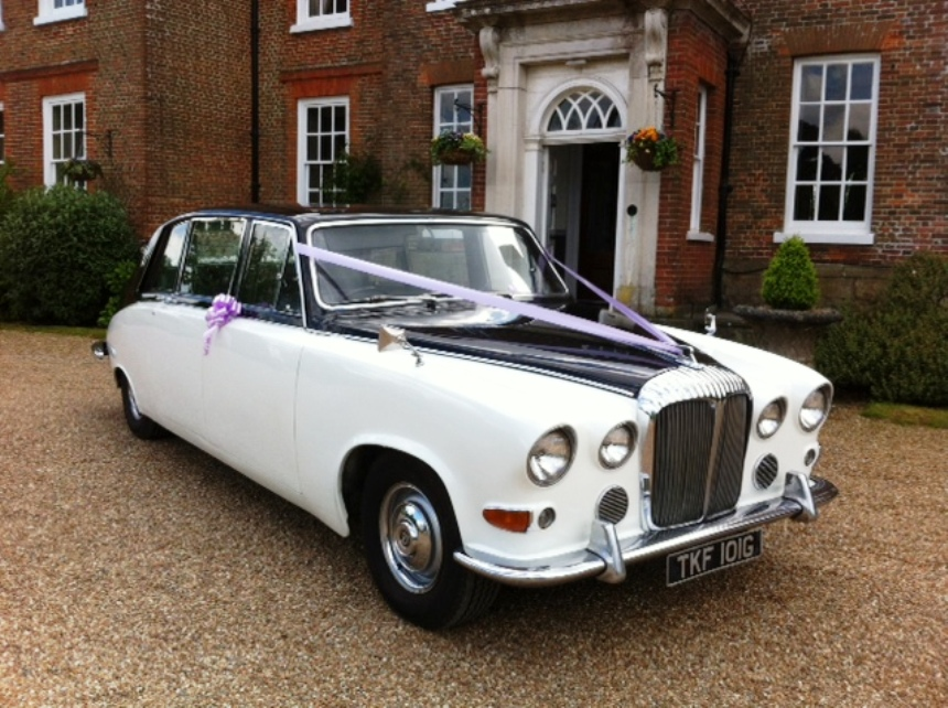 classic 1969 daimler wedding car for hire in maidstone. Black Bedroom Furniture Sets. Home Design Ideas
