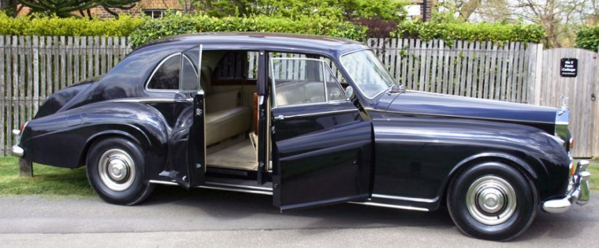 Classic Rolls Royce Rolls Royce Phantom Wedding Car In