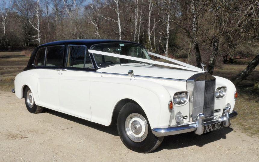 Rolls royce rolls royce phantom wedding car southampton Southampton motor cars