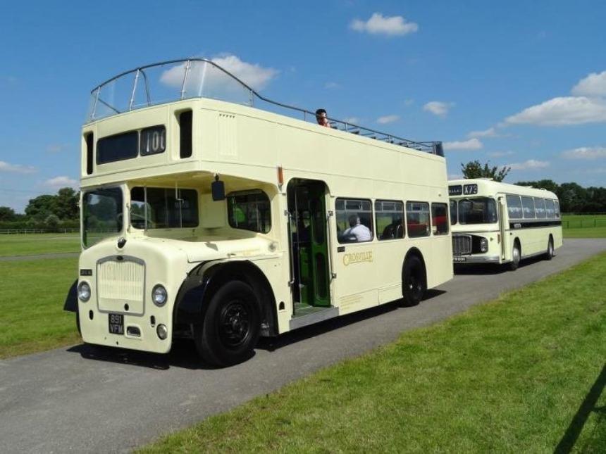 Open Top Bus Hire Bus For Weddings In Weston Super Mare