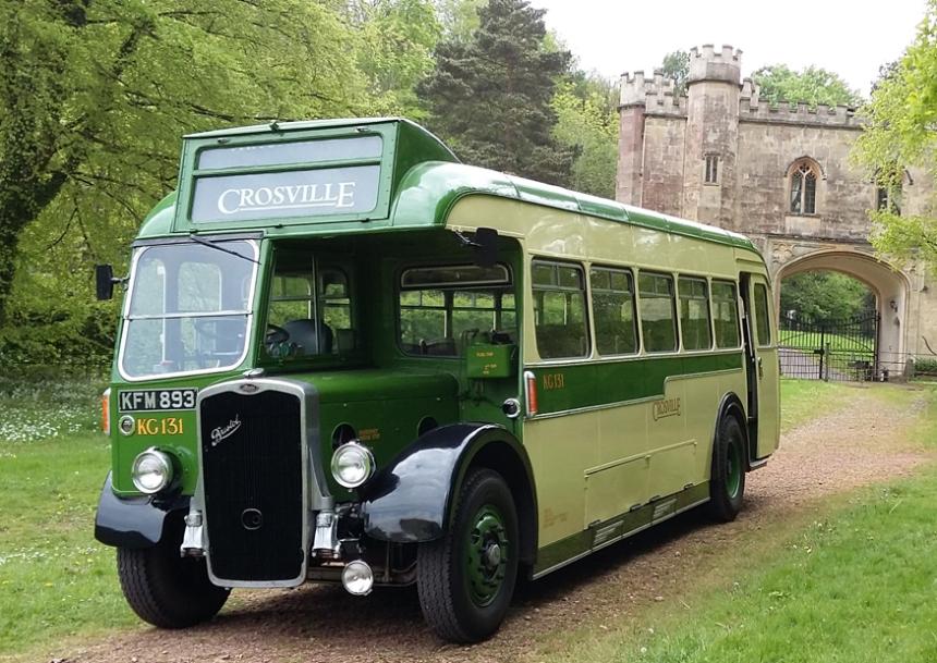 Vintage Wedding Bus For Hire In Weston Super Mare