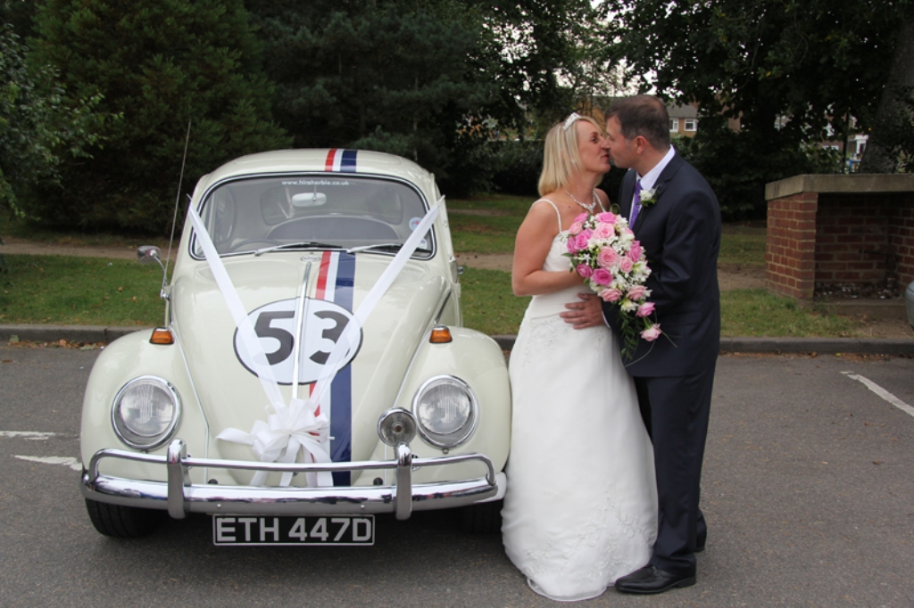 Herbie VW Beetle Wedding Car | Wedding Car Hire Winchester, Hampshire