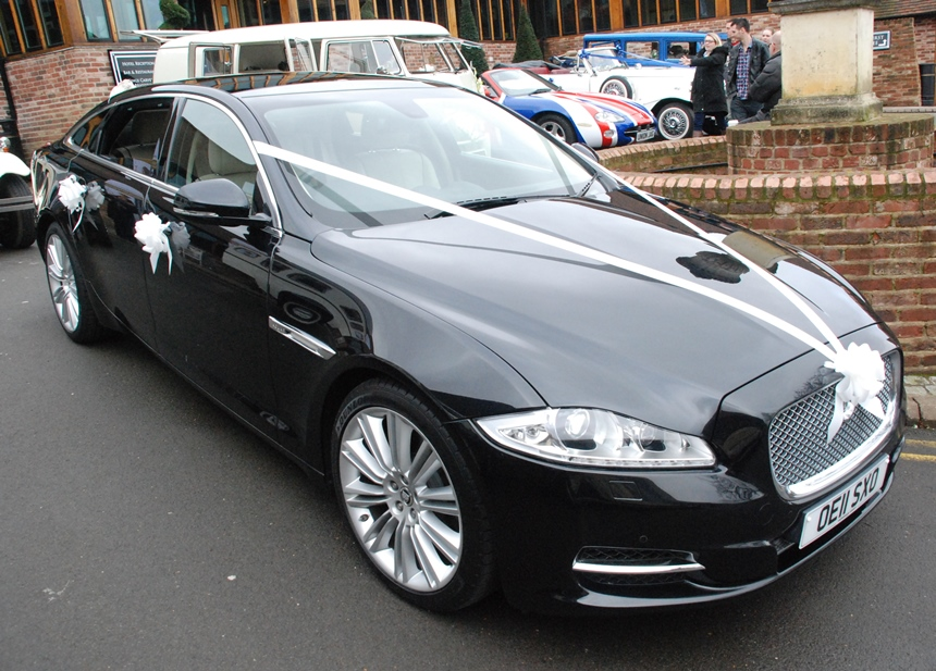 ... Modern Jaguar Wedding Car Hire In Southampton ...