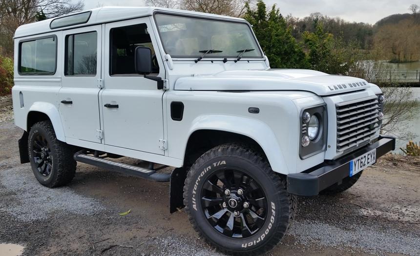 Land Rover Land Rover Defender Wedding Car In Hawkhurst