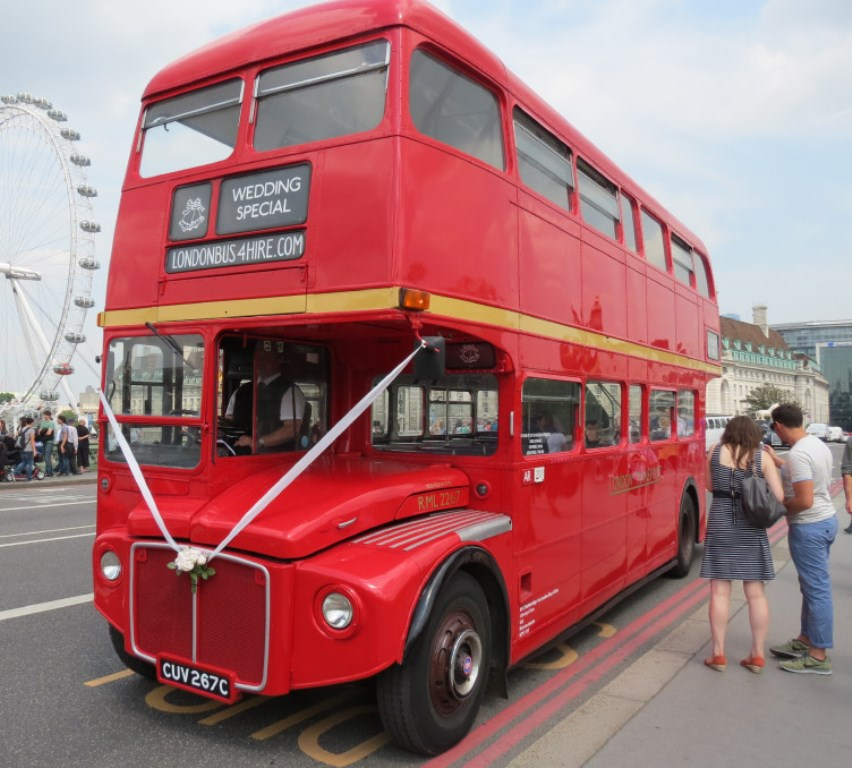 red london wedding bus wedding bus hire in usk, monmouthshire Wedding Hire London Bus classic routemaster bus for wedding hire in gloucester london wedding buses for hire