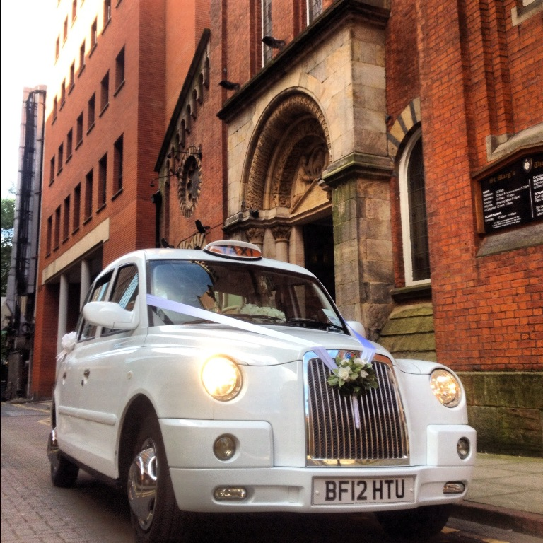 Altar Wedding Cars Manchester: London Taxi For Weddings In Manchester