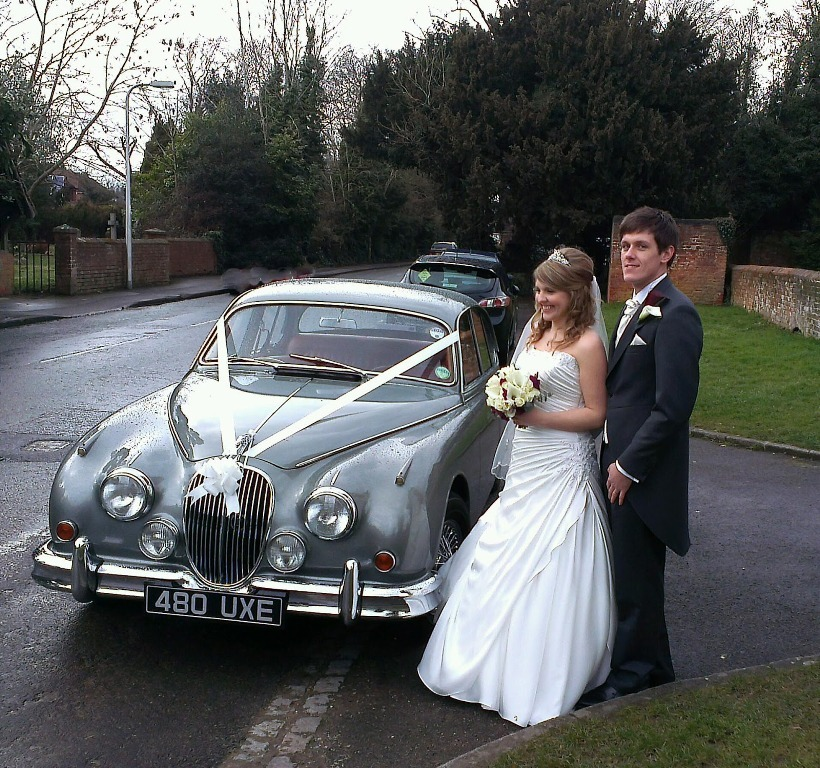 Jaguar Rental Car: Classic Wedding Car Hire In Henley