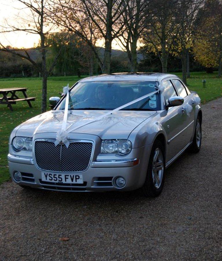 Chrysler 300 Wedding Car Hire In
