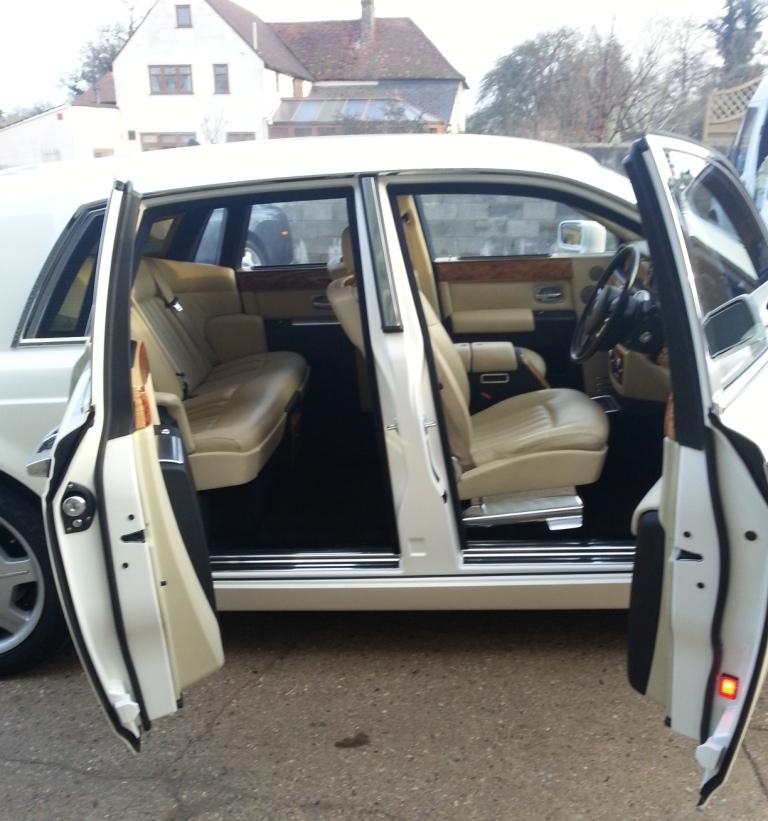 Rolls Royce Phantom Rolls Royce Wedding Car Cuffley Hertfordshire
