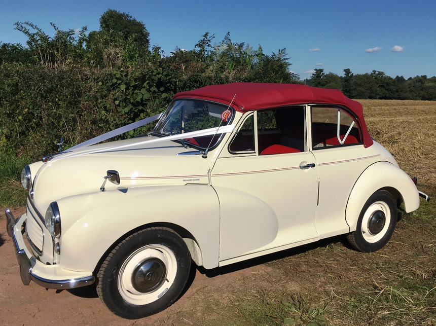 Classic Wedding Car Hire Sussex