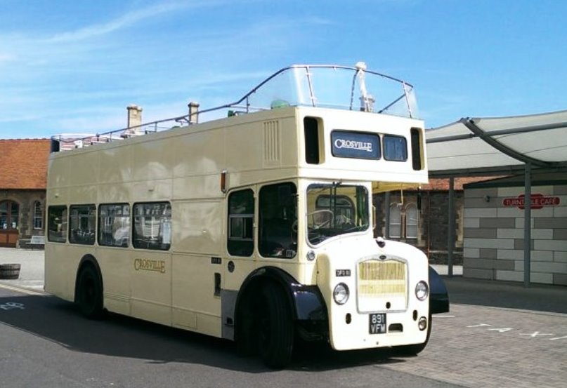 Open Top Bus Hire Bus For Weddings In Weston Super Mare