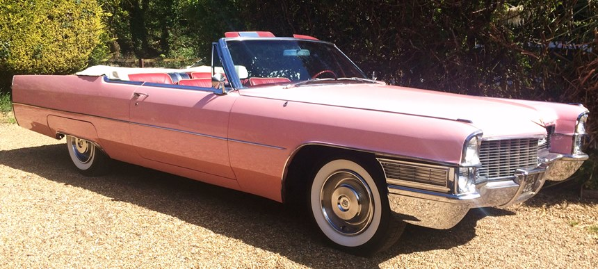 Convertible Cadillac For Wedding Hire In