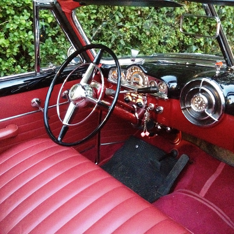 1950 Pontiac Convertible American Wedding Car Hire In