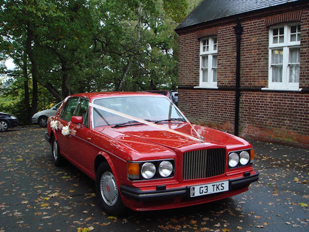 Classic Red Bentley Wedding Car Wedding Car Hire In